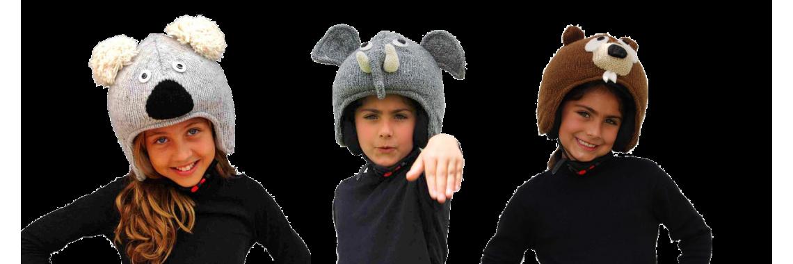 Animal Ski Helmet Covers
